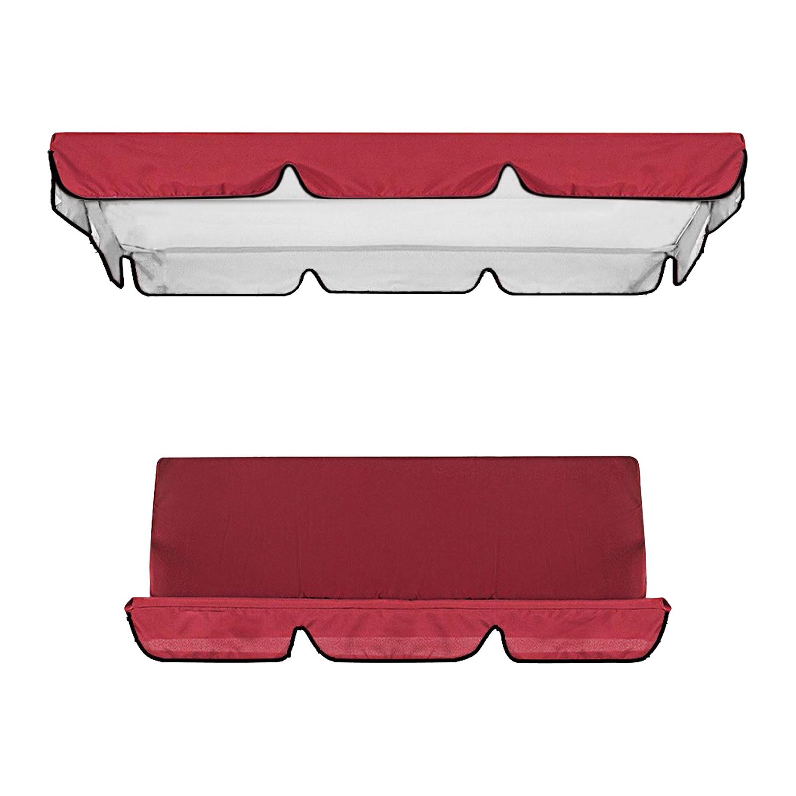 miniatura 7 - Sostituzione della copertura della sedia a dondolo da esterno per patio,