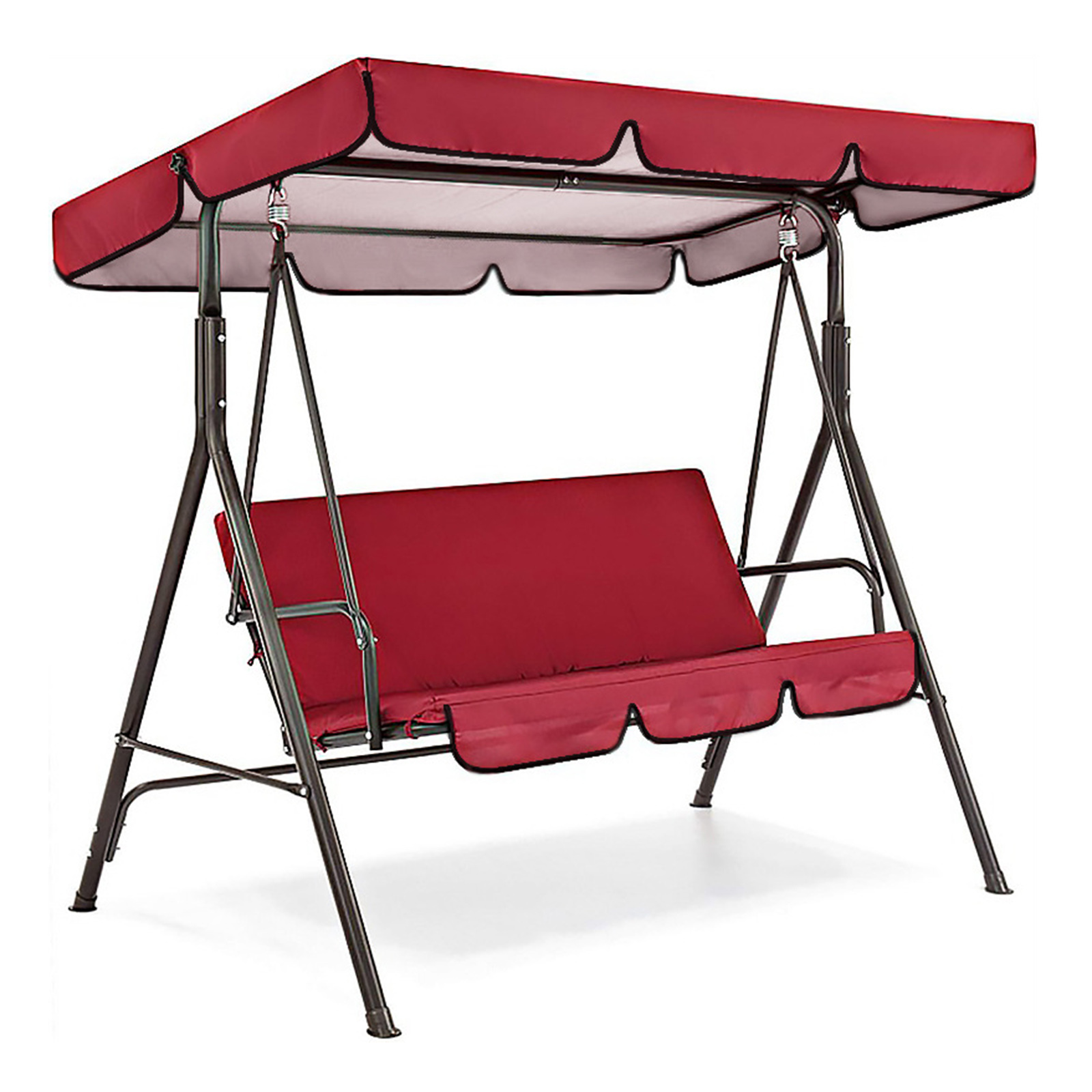miniatura 9 - Sostituzione della copertura della sedia a dondolo da esterno per patio,