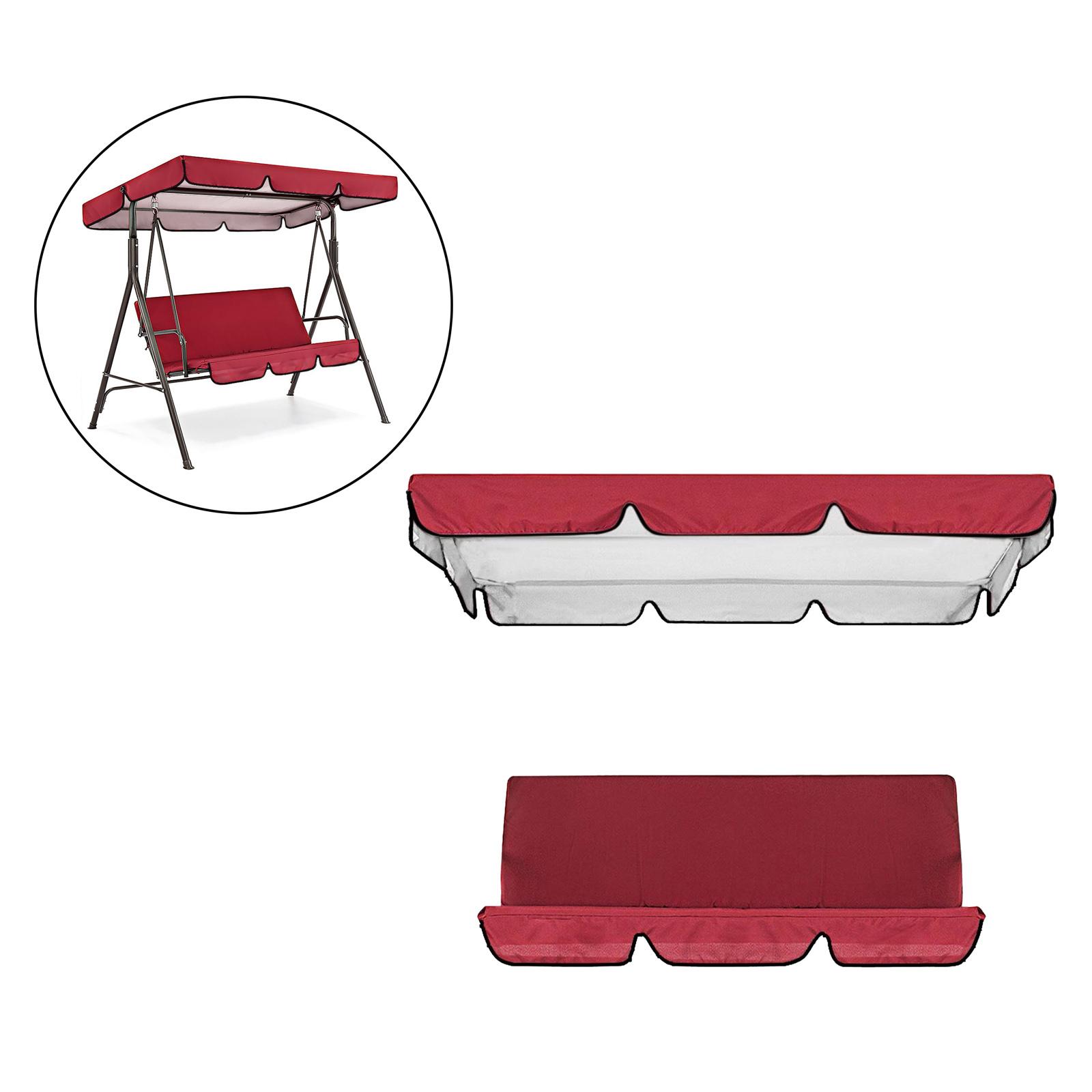miniatura 5 - Sostituzione della copertura della sedia a dondolo da esterno per patio,