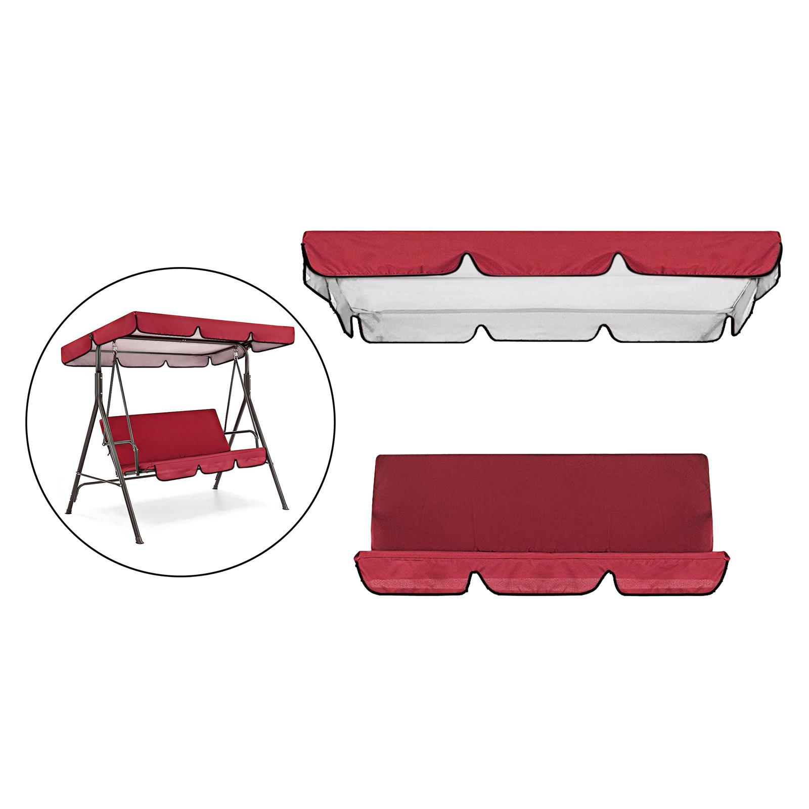 miniatura 4 - Sostituzione della copertura della sedia a dondolo da esterno per patio,