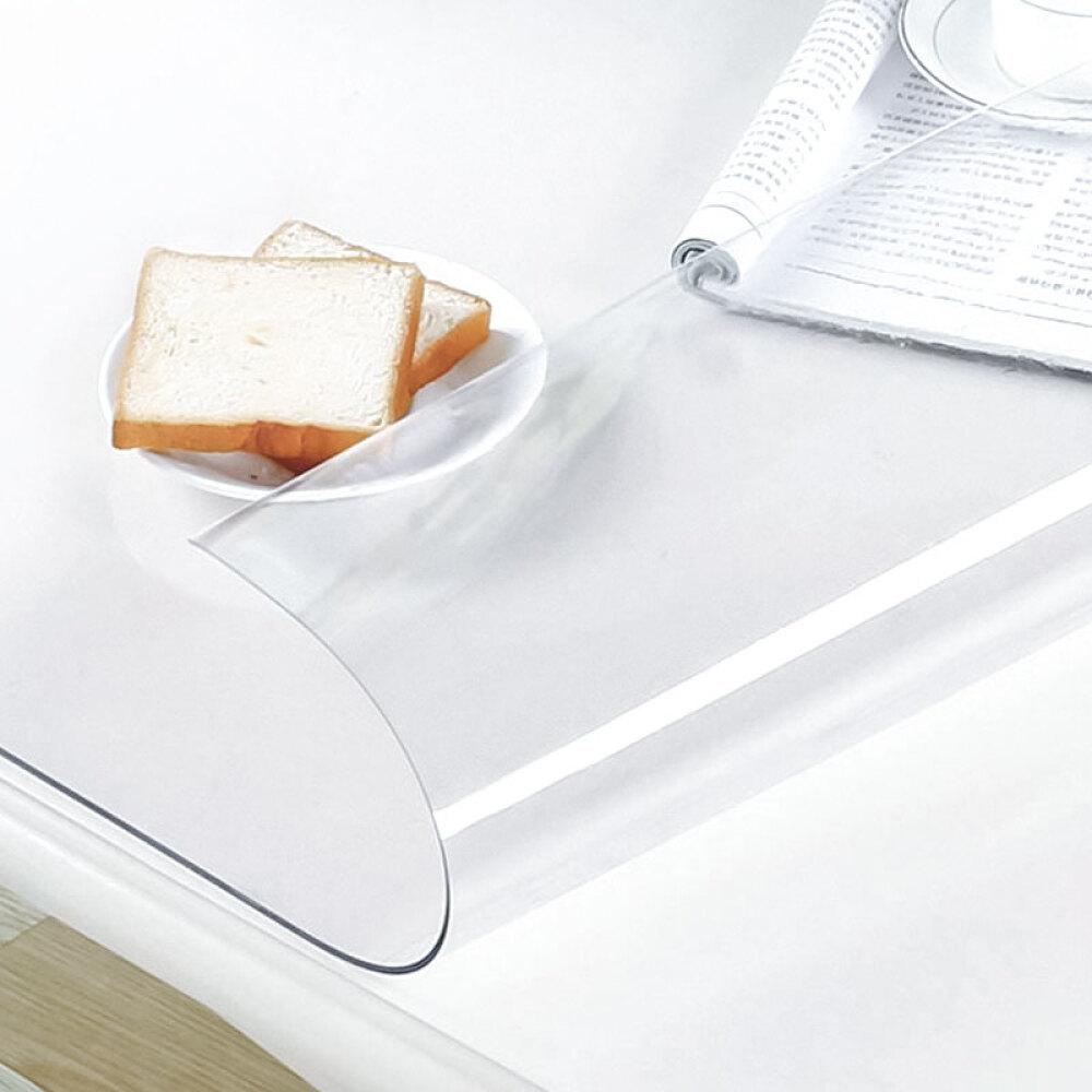 Nappe-de-bureau-en-plastique-protecteur-de-nappe-en-plastique-en-PVC miniature 3