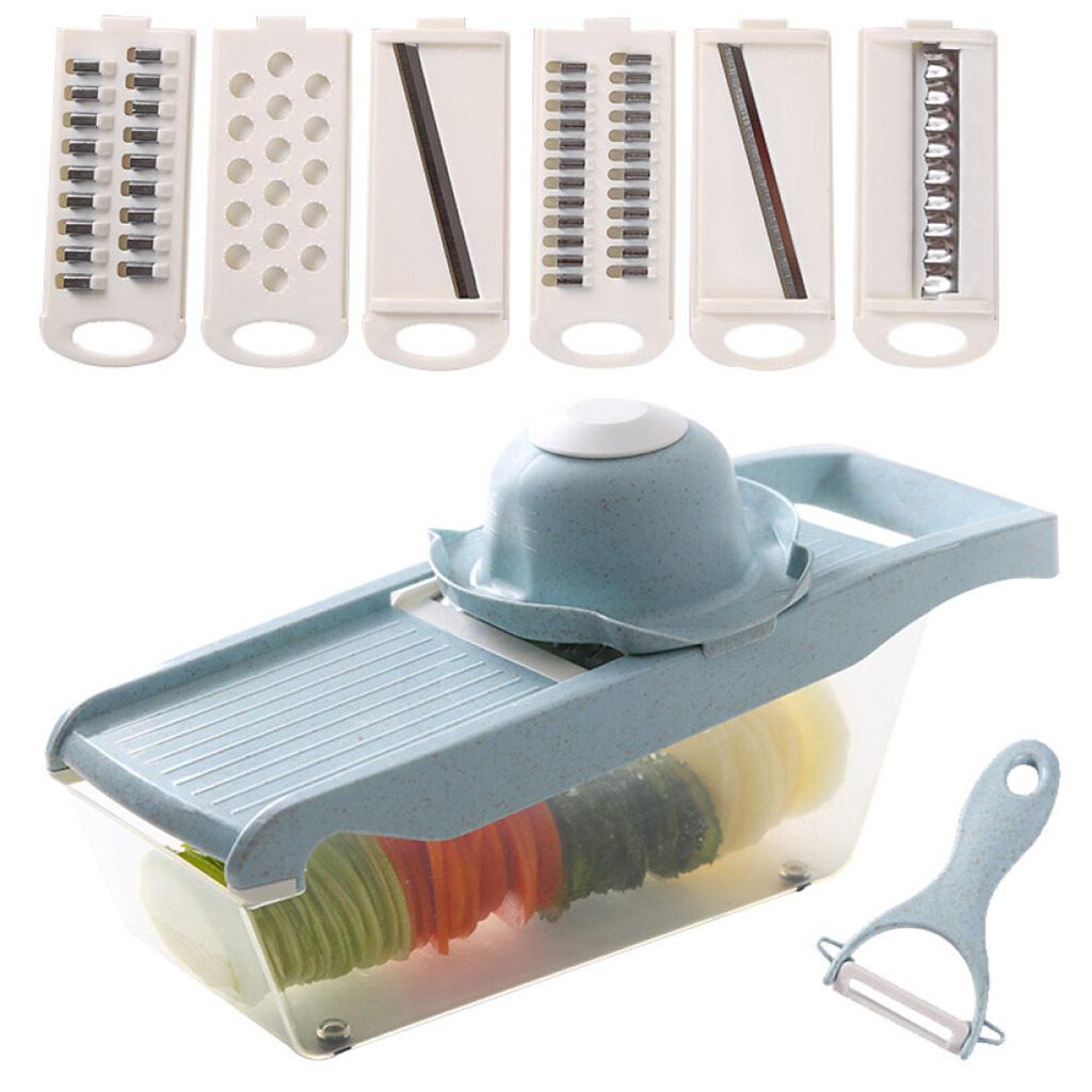 miniatura 3 - Affettatrice-Spiralizer-Affettatrice-di-verdure-Tritatutto-per-verdure