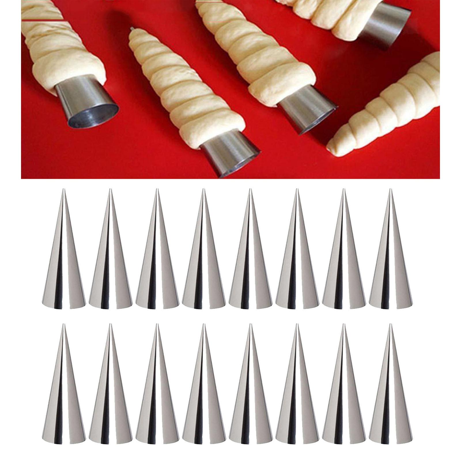 miniature 9 - Crème pâtissière Trompette Croissant Outil Spirale Tubes Pain Pâtisserie Gâ