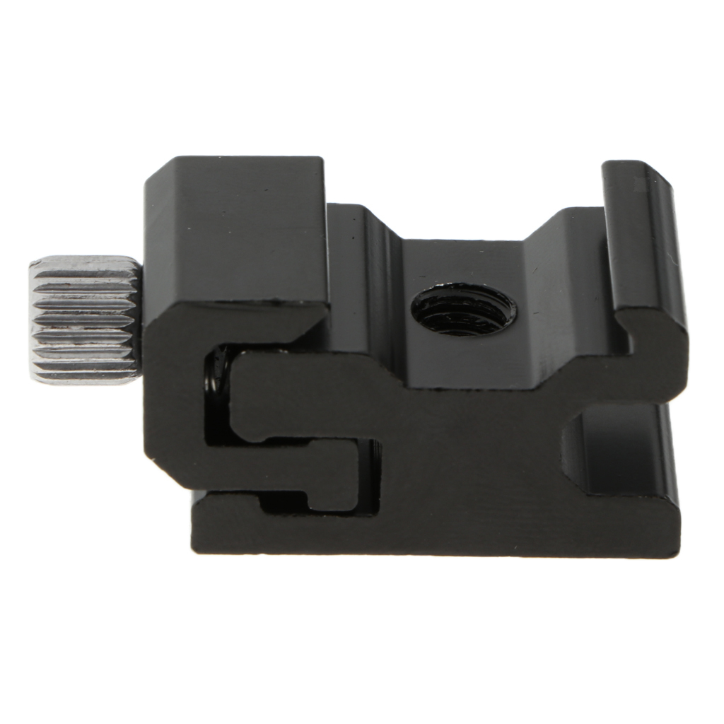 thumbnail 12 - 5 packs of aluminum hot shoe tripod adapters with 1/4 inch 20 tripod screw