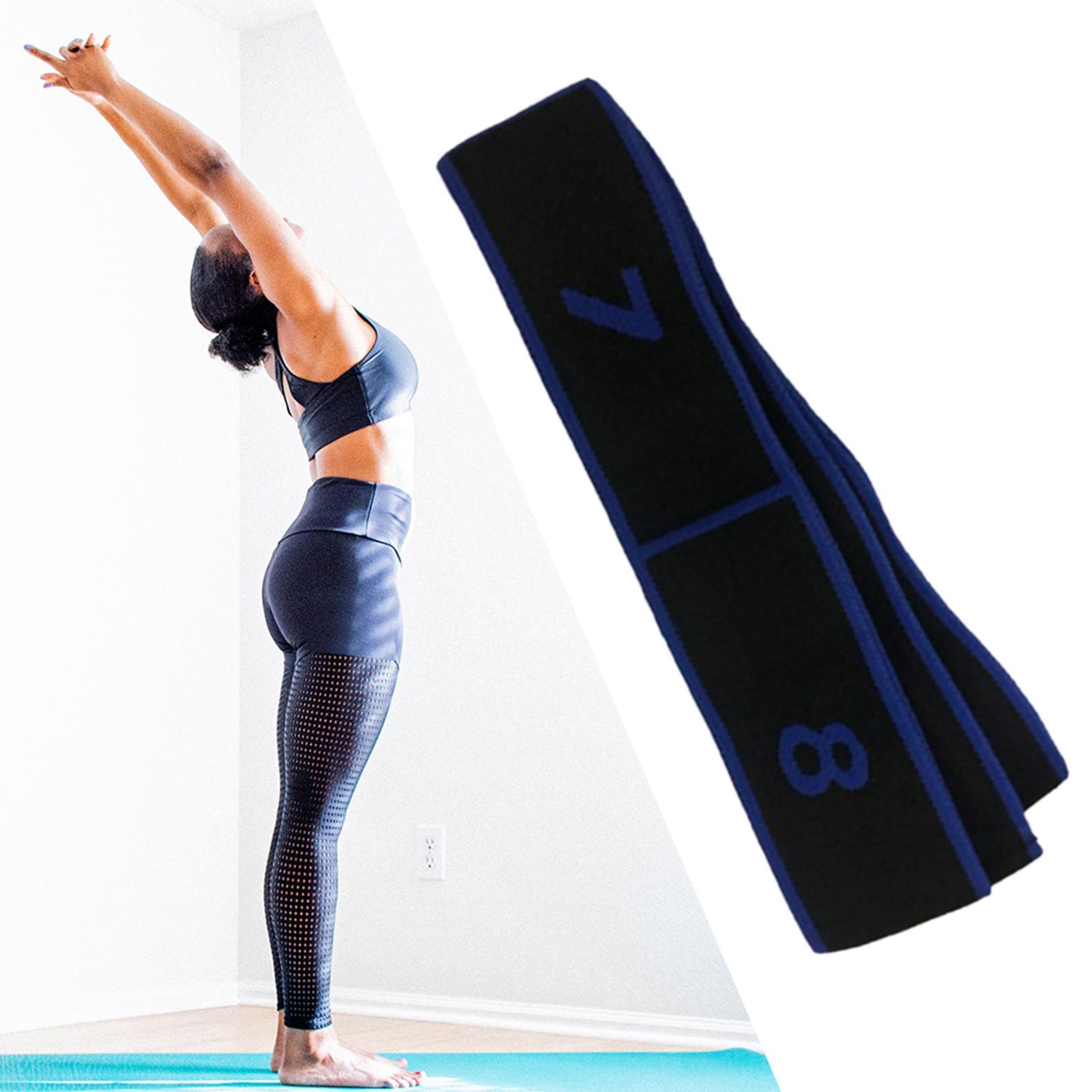miniatura 4 - Premium yoga Strap 90cm elástico stretchband Dance prorrogado