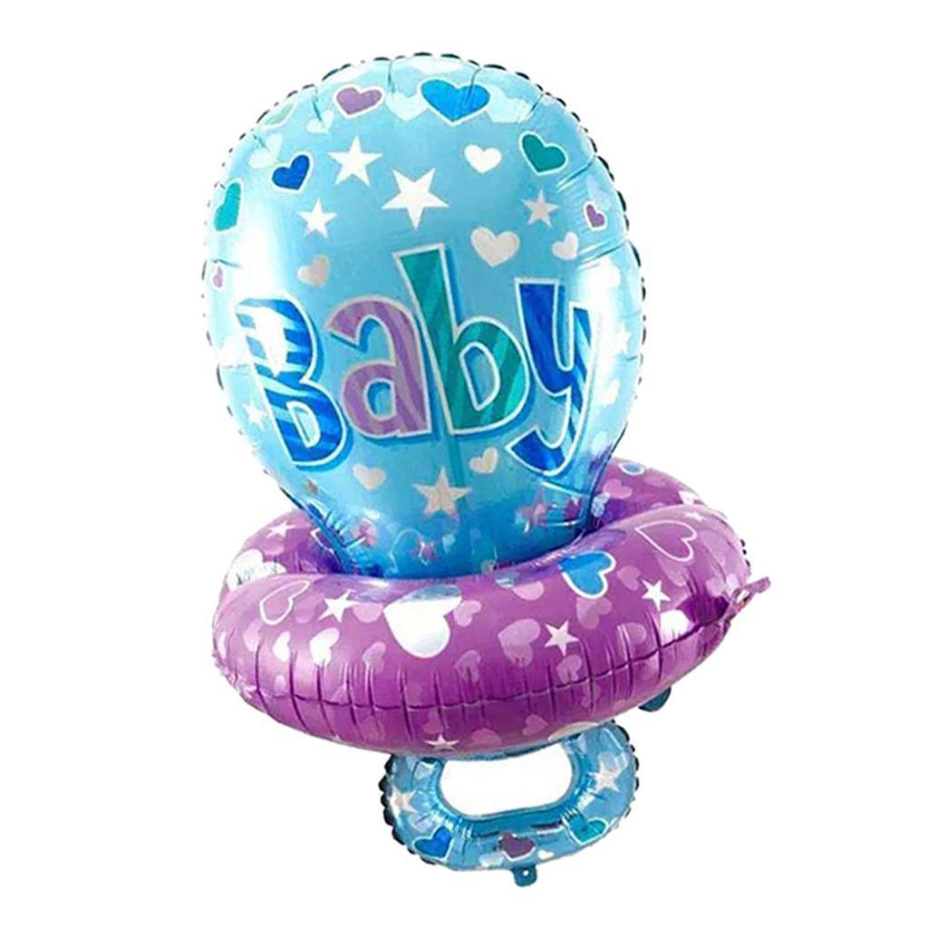 miniatura 3 - Baby Shower Ciuccio Palloncino Battesimo Ragazze Ragazzo Compleanno