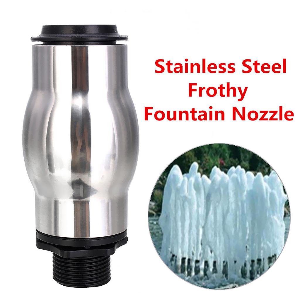 1 Packs Fountain Nozzle Spray Head DN25 Pond Sprinkler Bubble Nozzle 16cm
