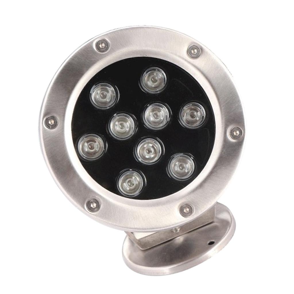 miniatura 7 - Lampada Laghetto Illuminazione Subacquea Luce Indiretta LED 9W Lega Alluminio