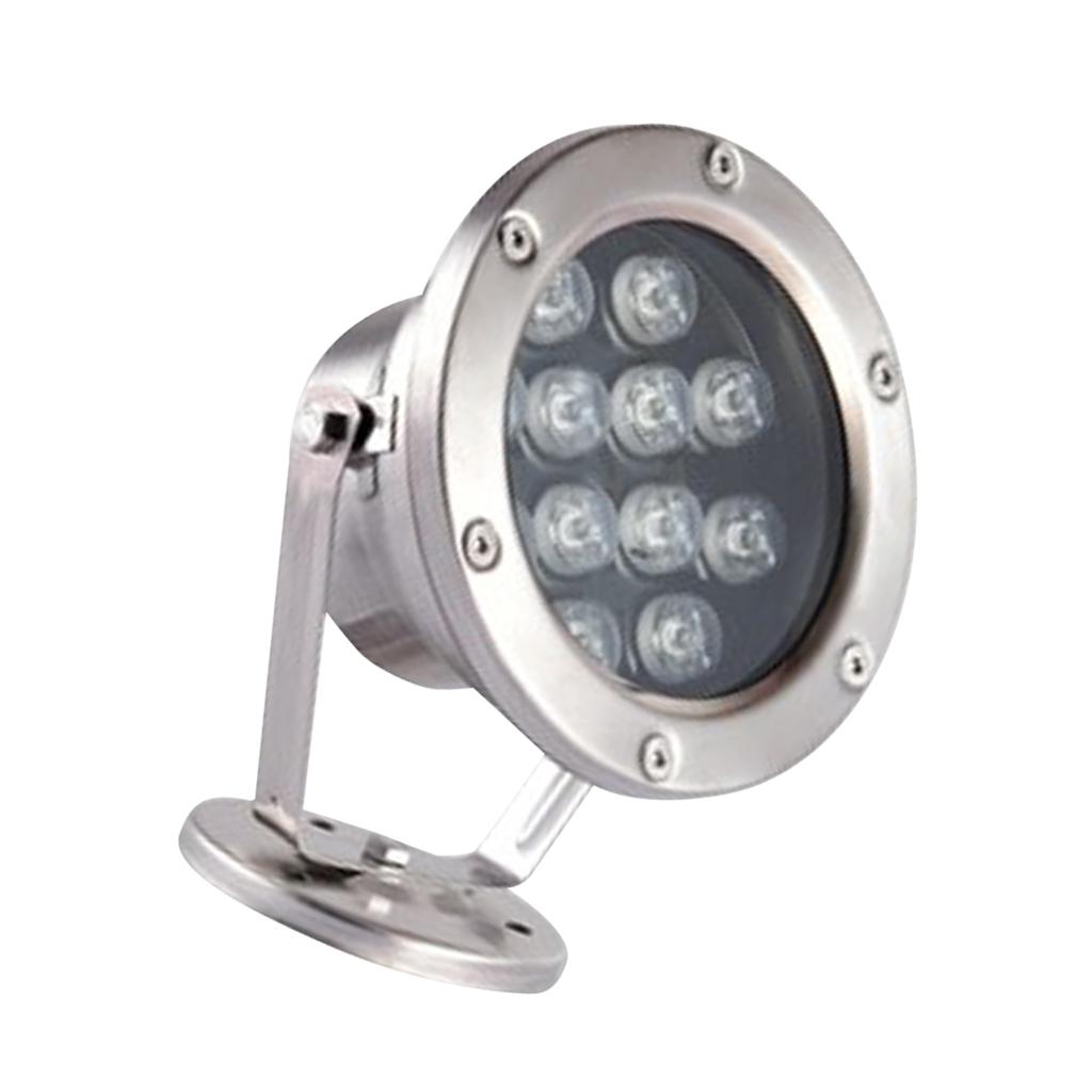 miniatura 18 - Illuminazione Subacquea LED Luce Spot Punto Laghetto Acquario Piscina