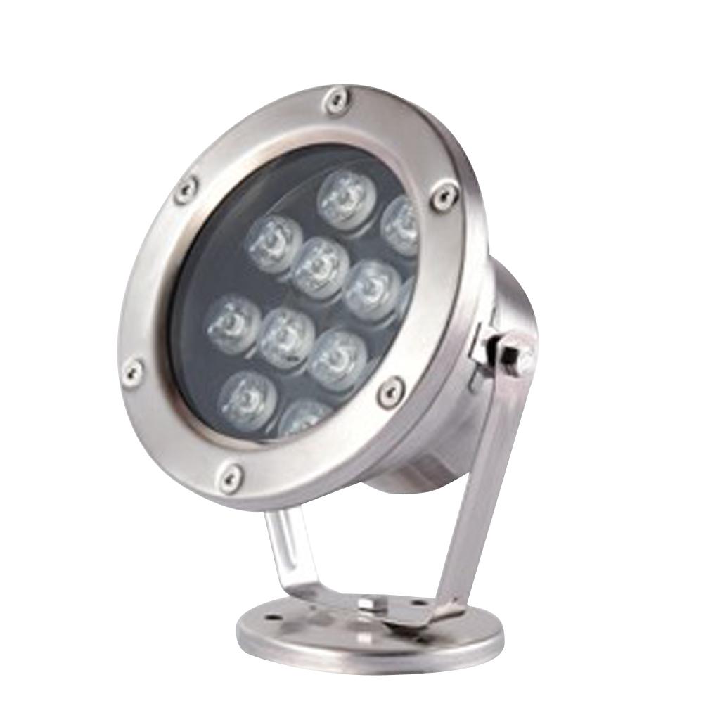miniatura 19 - Illuminazione Subacquea LED Luce Spot Punto Laghetto Acquario Piscina