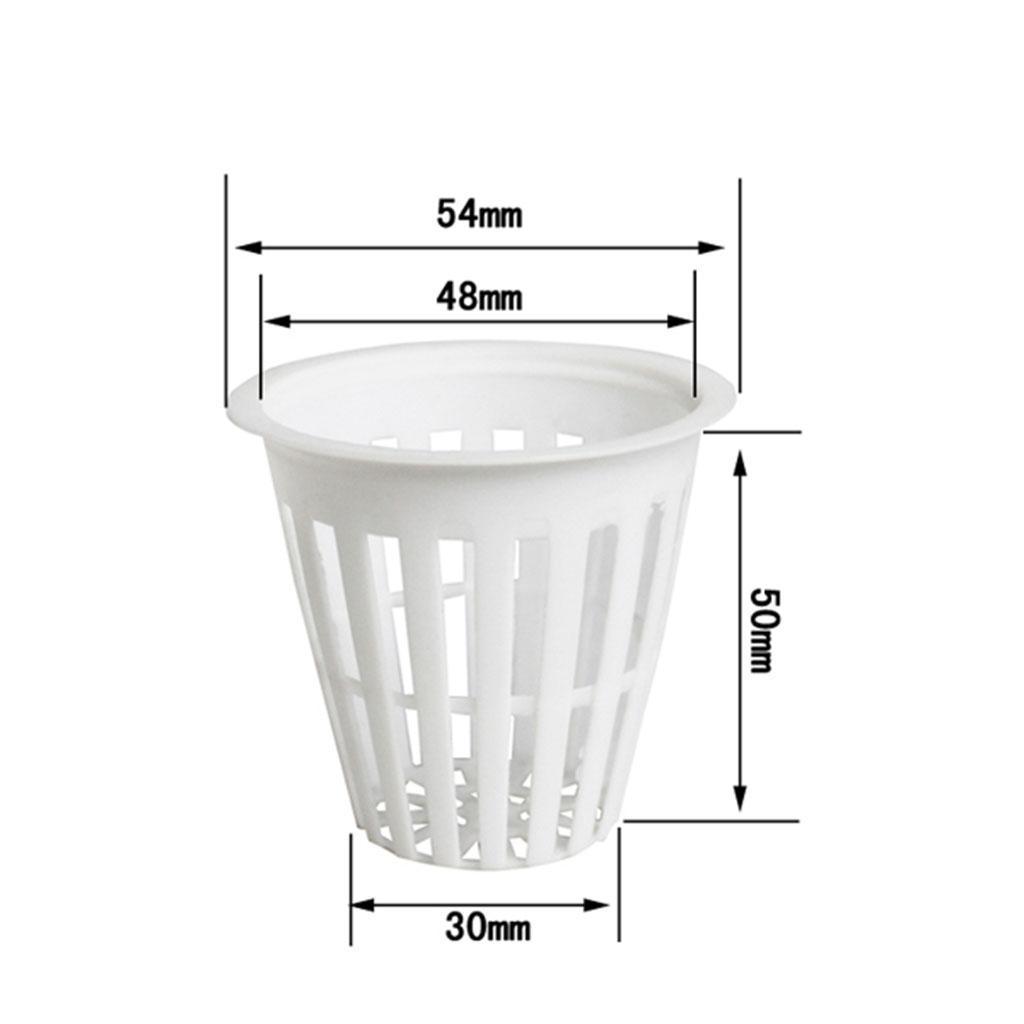 miniatura 4 - Kit Di Coltivazione Idroponica Da 5 Pezzi Per Vasi Da Rete In Rete Resistente