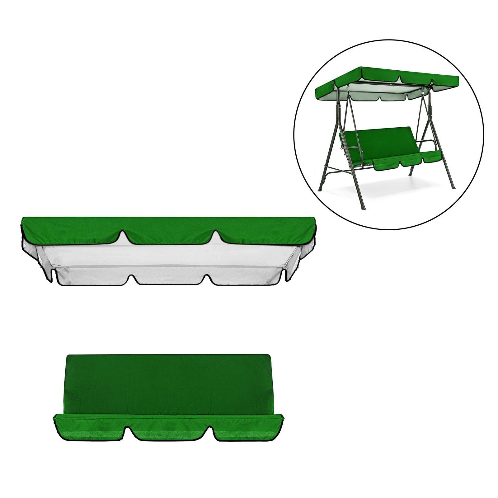 miniatura 10 - Sostituzione della copertura della sedia a dondolo da esterno per patio,