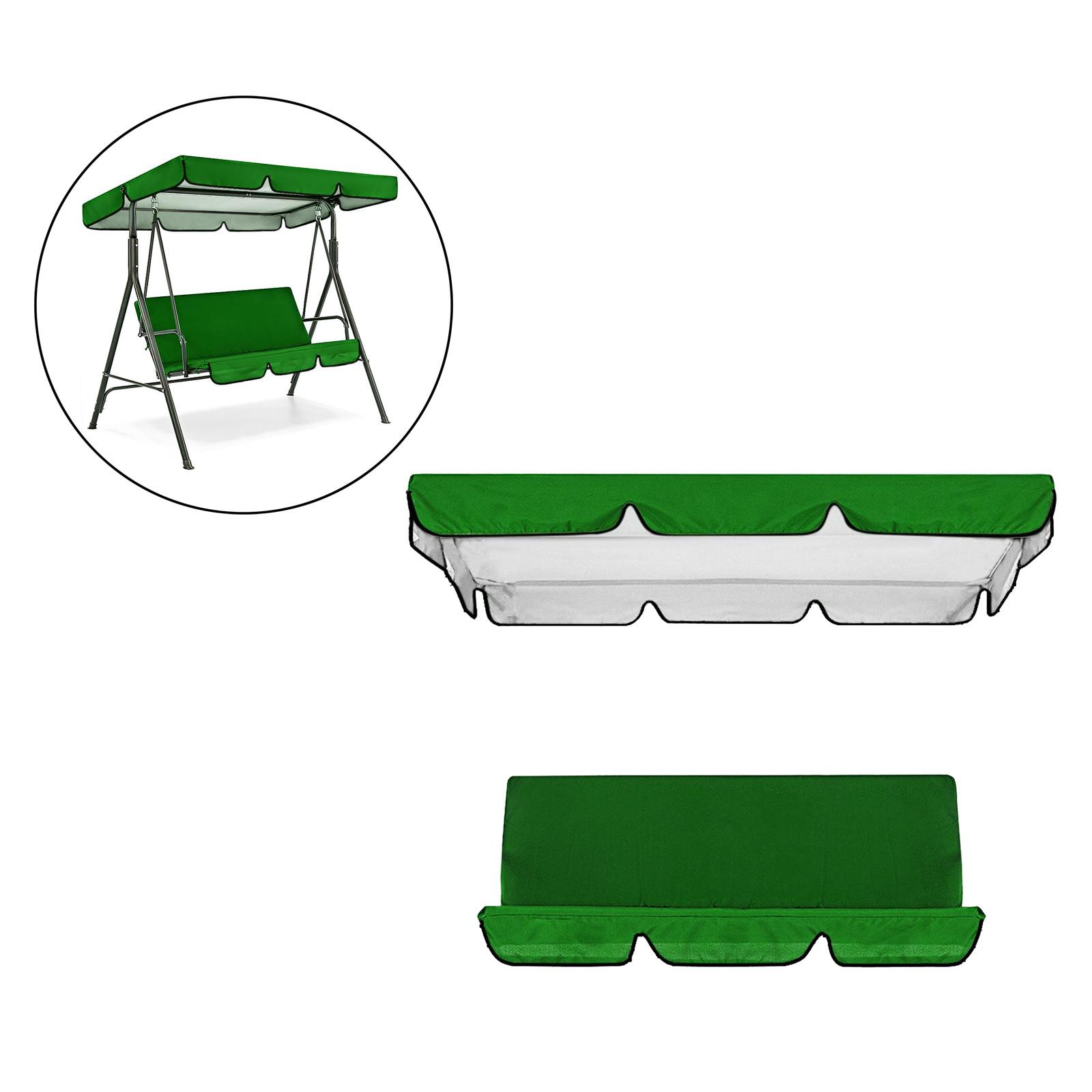 miniatura 15 - Sostituzione della copertura della sedia a dondolo da esterno per patio,