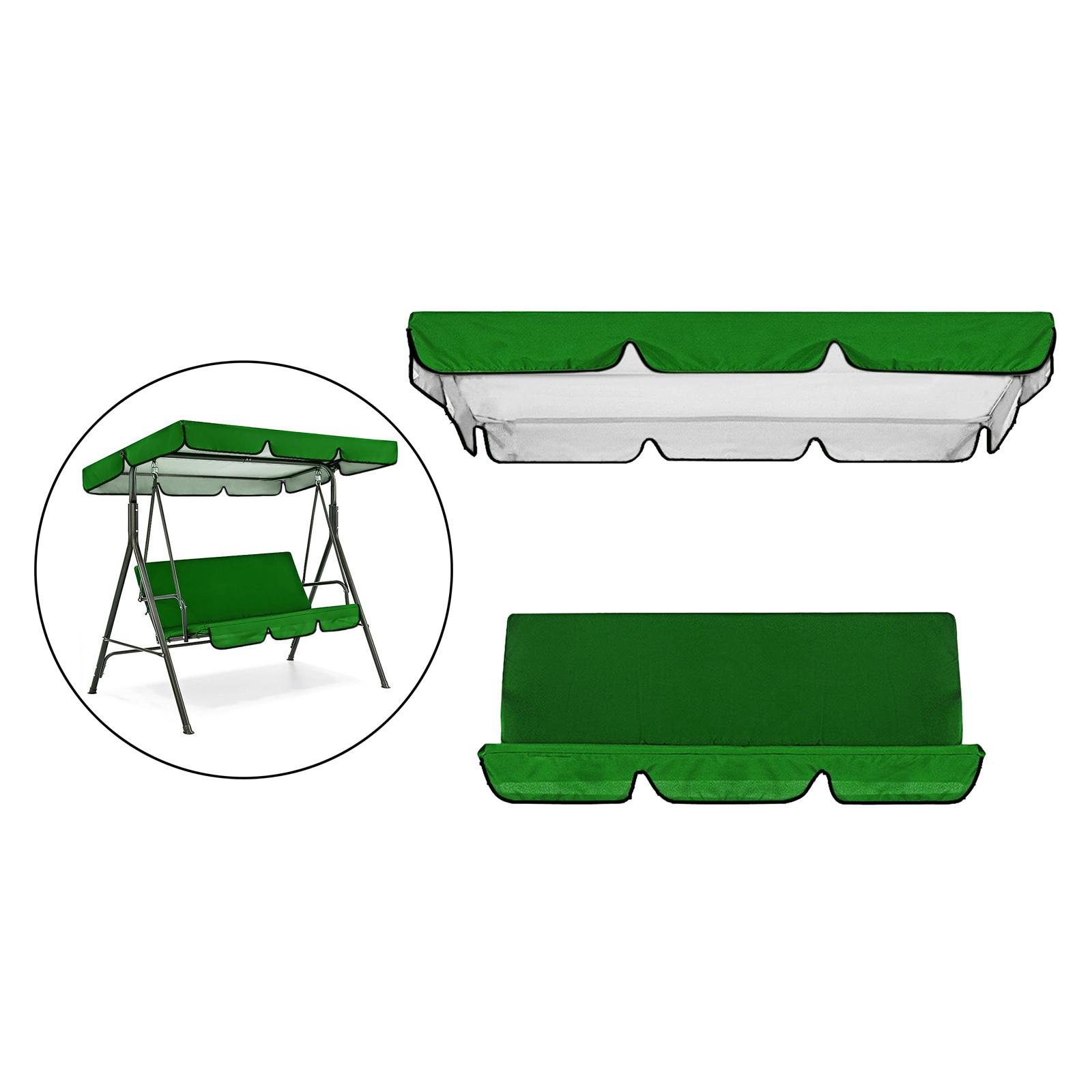 miniatura 16 - Sostituzione della copertura della sedia a dondolo da esterno per patio,