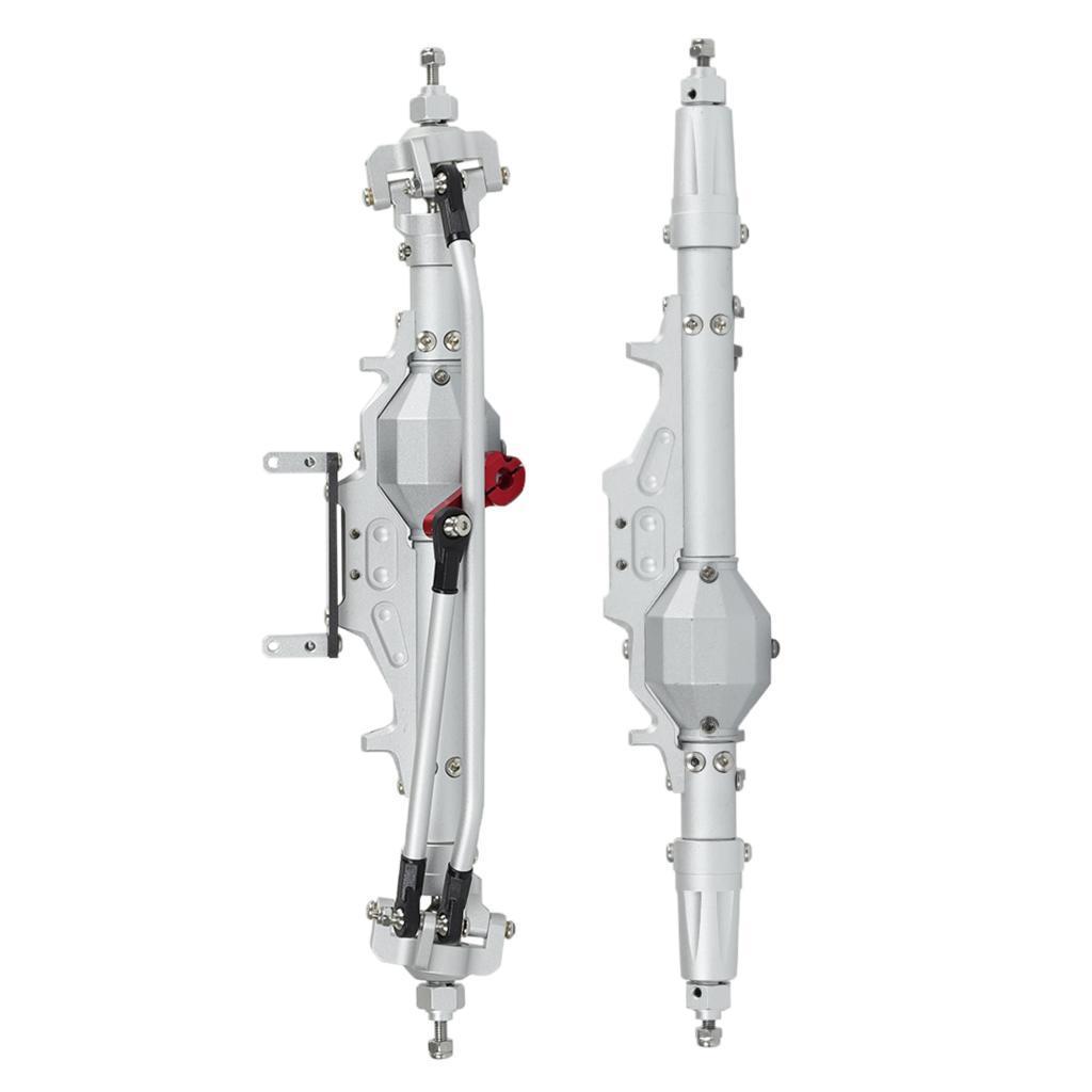 Assale-anteriore-posteriore-in-lega-di-alluminio-1-10-RC-Crawler-per-Axial miniatura 17