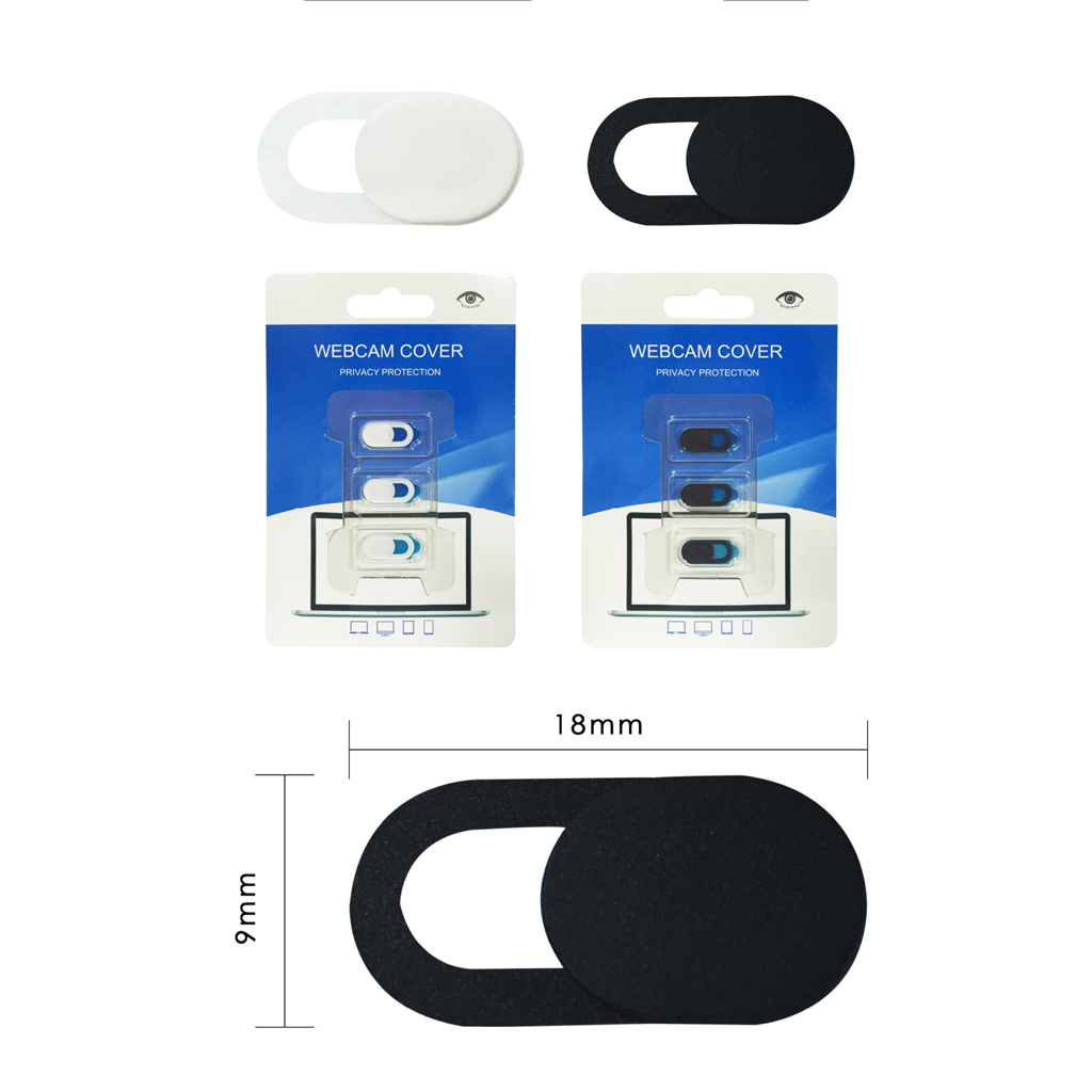 3-Stuecke-Webcam-Abdeckung-Anti-Spionage-Kamera-Privatheit-Cover-Slider Indexbild 7