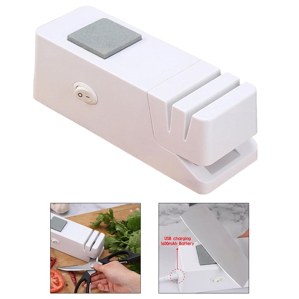 miniatura 5 - Coltello elettrico Temperamatite Automatico Forbici Lama Per Affilare I