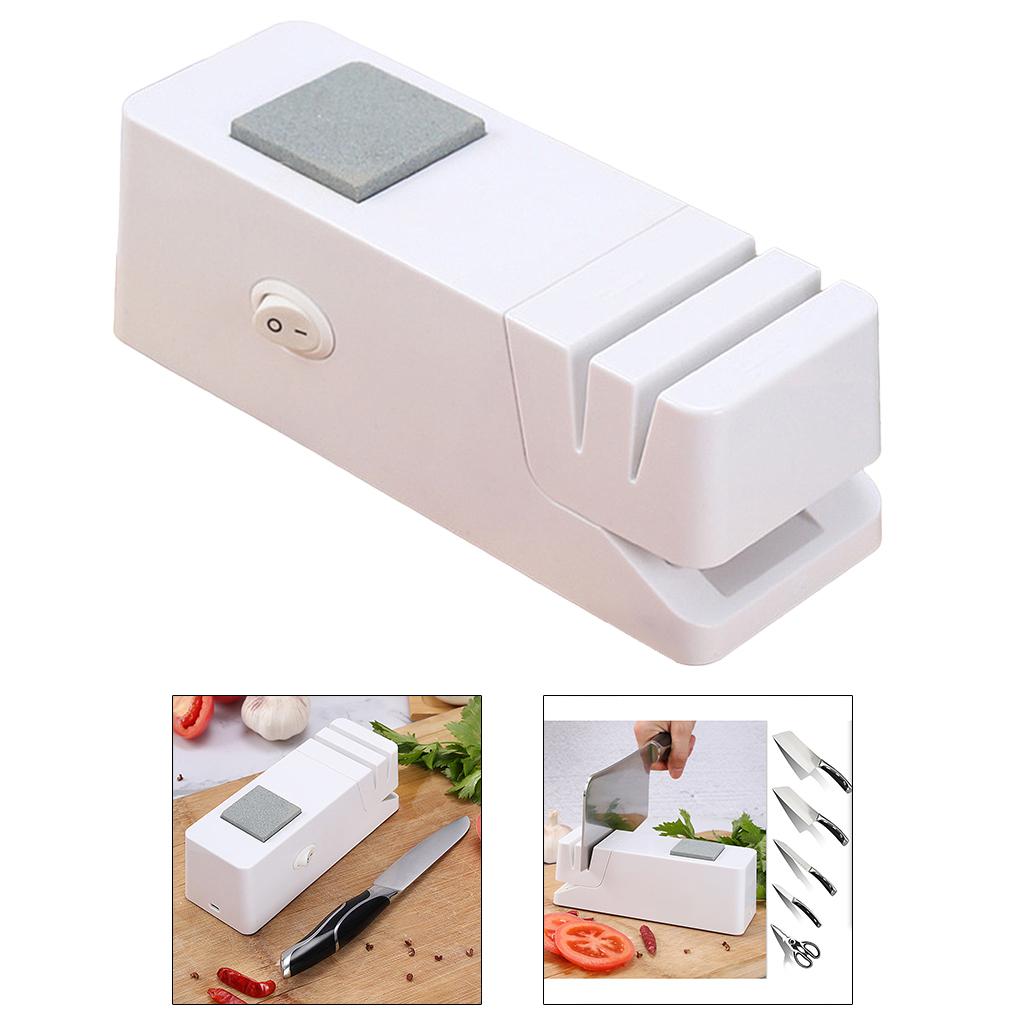 Coltello elettrico Temperamatite Automatico Forbici Lama Per Affilare I