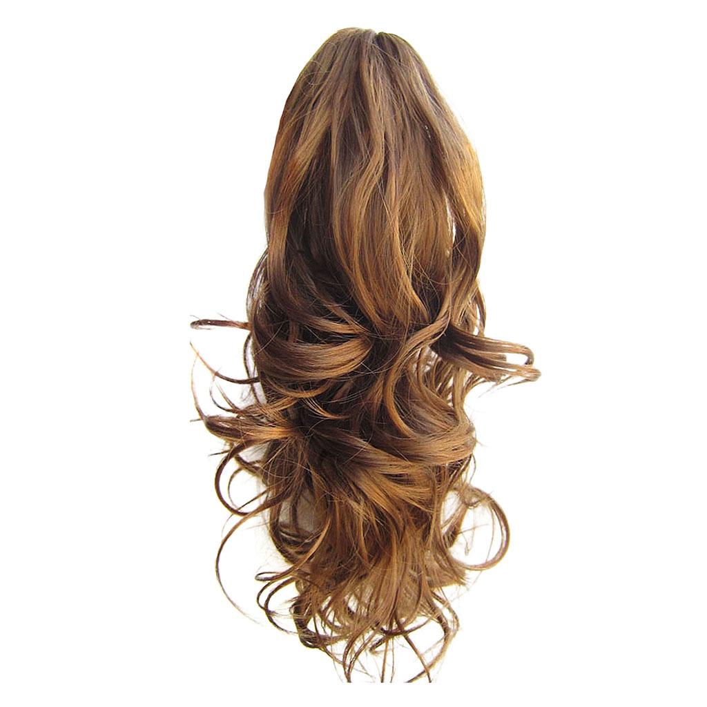 Queue-de-Cheval-Extension-Extension-avec-Pince-Rajout-Cheveux-Diverses miniature 10