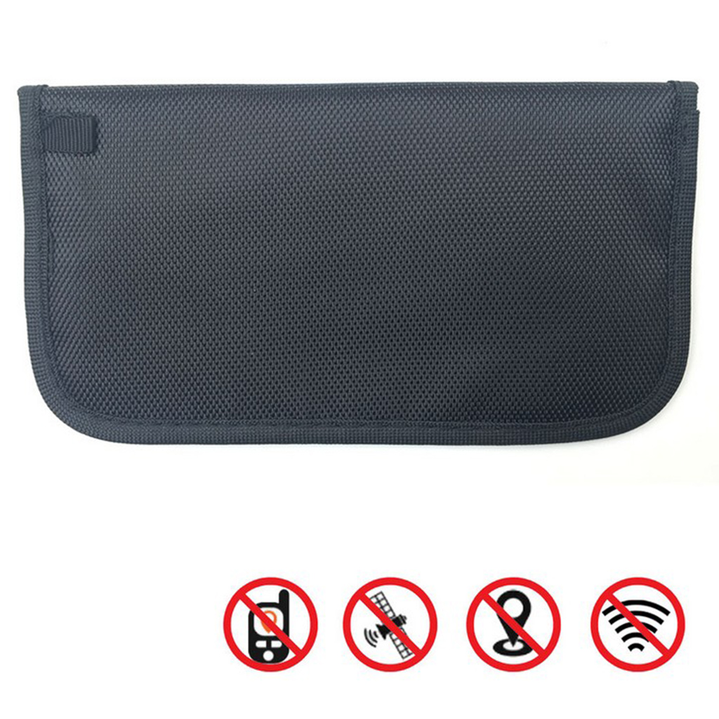1pc Large GSM 4G RF RFID Signal Blocking Bag Wallet Case for Car Key FOB