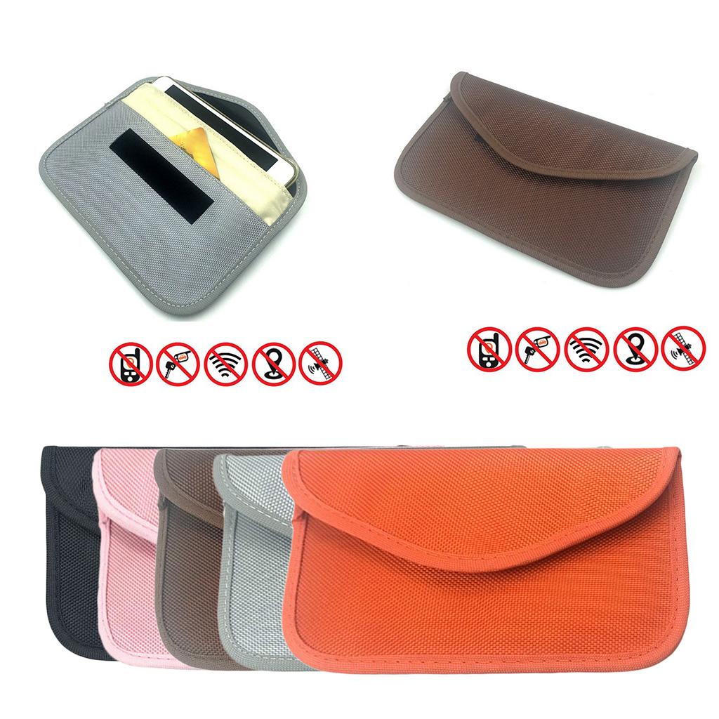 1pc GSM 3G Signal Blocking Bag Shielding Wallet Case for GPS Car Key FOB EMF