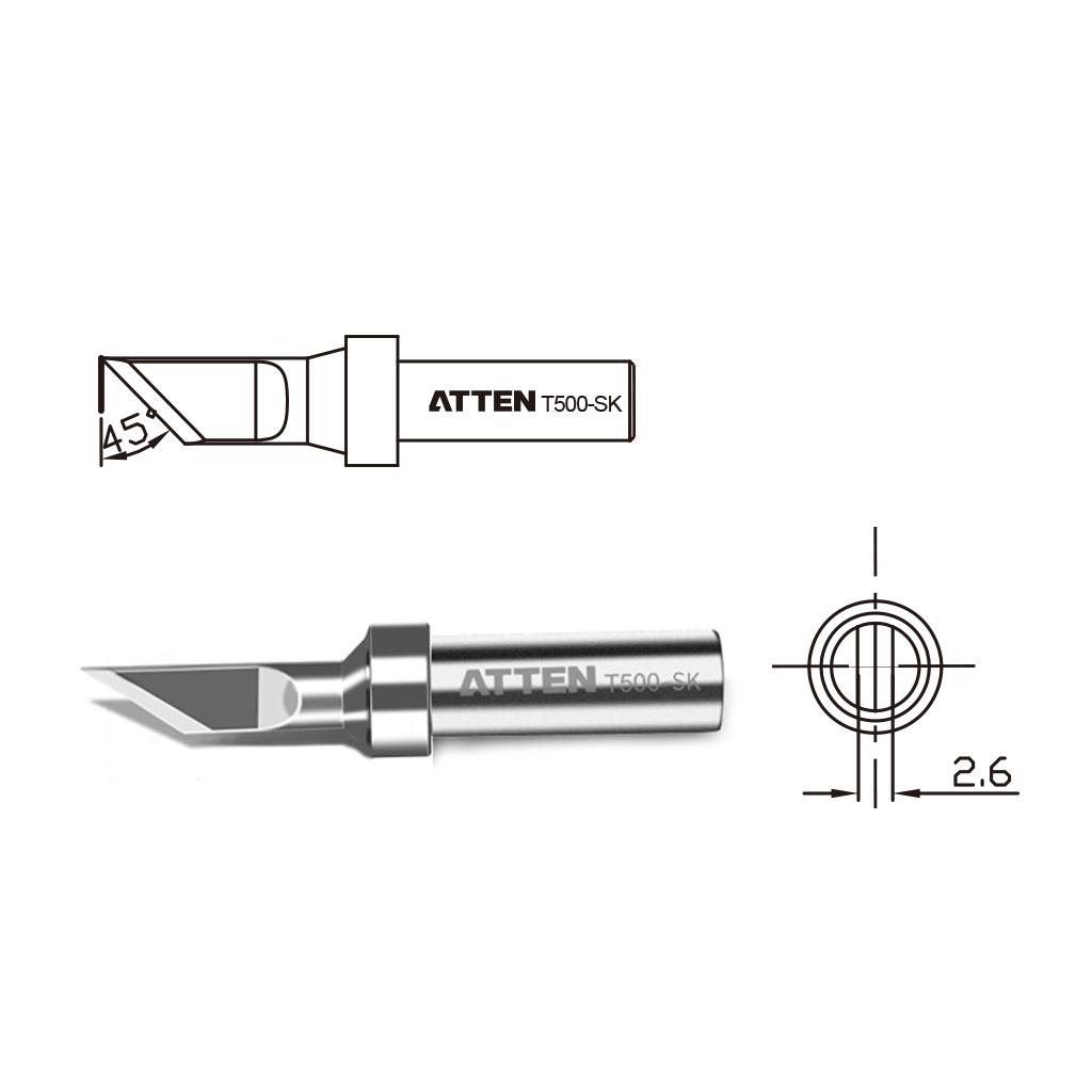 T500 Welding Tip High Frequency Durable Repair Soldering