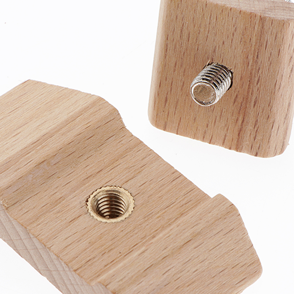 Holzschleifpapier-Schleifblock-DIY-Leder-Bastelzubehoer Indexbild 4