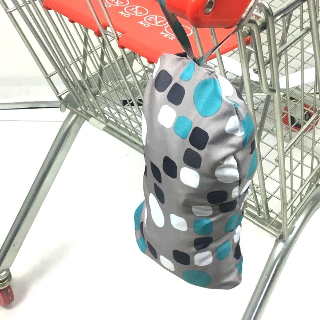 Praktische Einkaufswagenschutz Sitzbezug für Einkaufswagen und Hochstuhl bietet