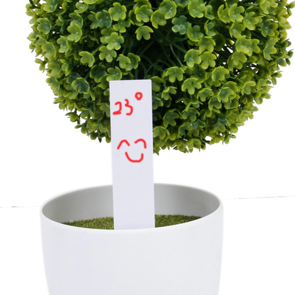 100-STK-Pflanzenschilder-Weiss-Plastik-Pflanzenstecker-zum-Beschriften-Garten Indexbild 10