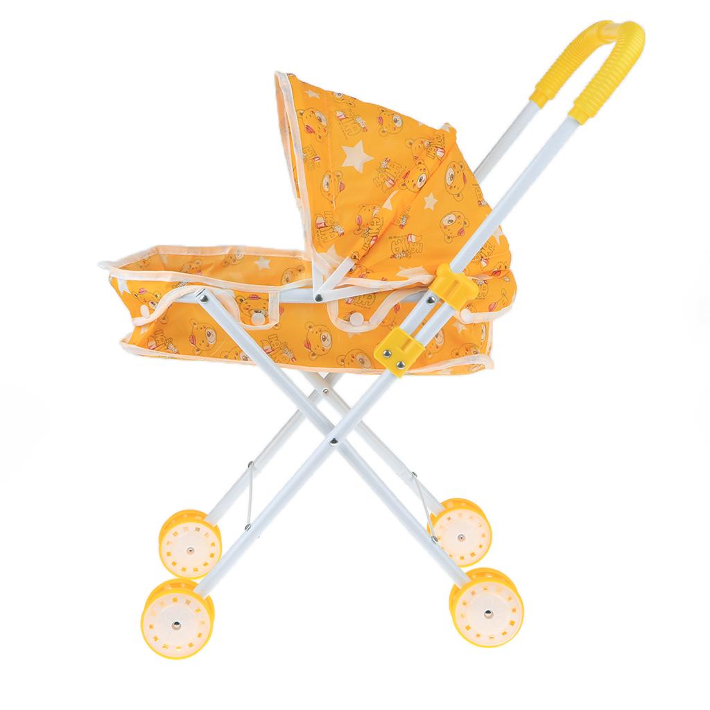 Foldable-Simulation-Pushchair-Stroller-Buggy-Pram-Pretend-Parent-Kids-Role-Play miniature 19