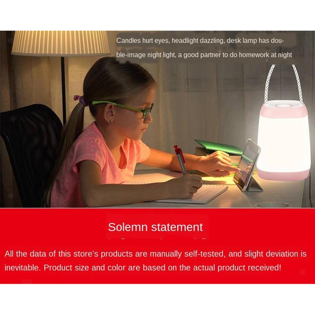 Luce-notturna-per-bambini-Lampada-da-vivaio-per-bambini-con-manico-in-corda miniatura 3