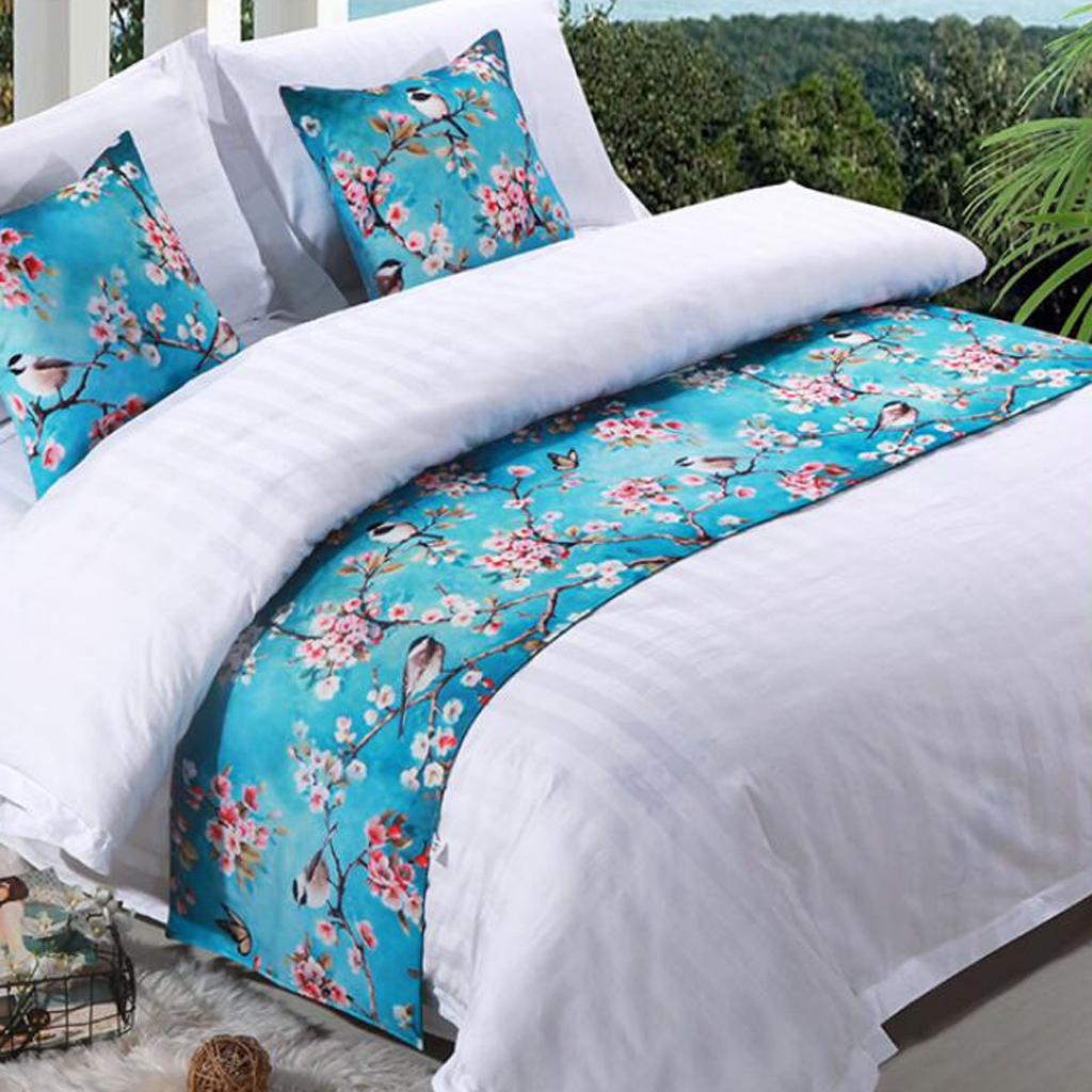 Samt Runner Bett Bett Runner Tagesdecke Baumwolle Sofa Überwurfdecke
