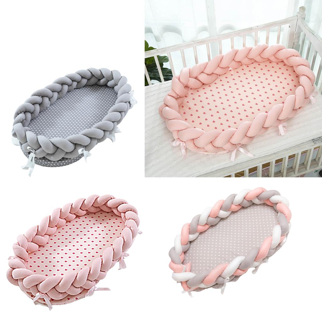 Babynest Nest Schlafnest Babynestchen Kokon Babykokon Babydecke für Neugeborene