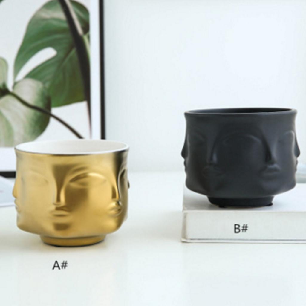Nordic Style Ceramic Flower Plant Pot Garden Home Decor Mini Bonsai Container Ebay