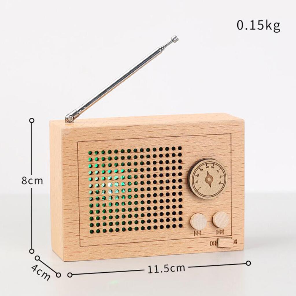Clockwork-Music-Box-Radio-Music-Box-Tabletop-Musical-Ornaments-Girls-Gift thumbnail 20