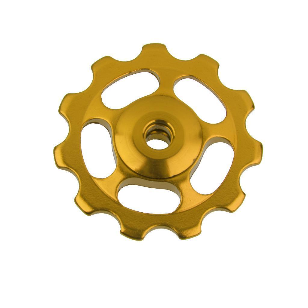 11T-MTB-Bike-Cycle-Aluminum-Alloy-Bearings-Jockey-Wheel-Rear-Derailleur-Pulleys thumbnail 3