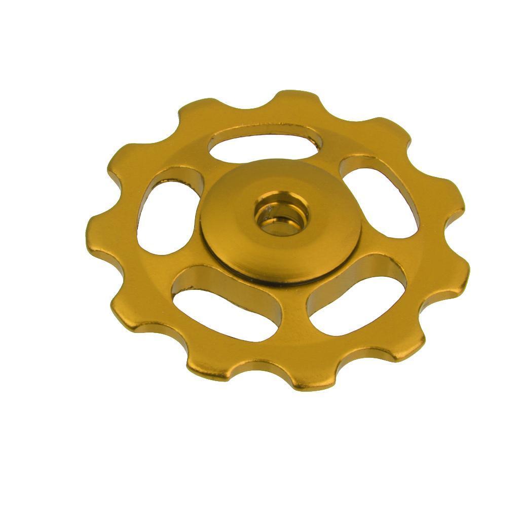 11T-MTB-Bike-Cycle-Aluminum-Alloy-Bearings-Jockey-Wheel-Rear-Derailleur-Pulleys thumbnail 4