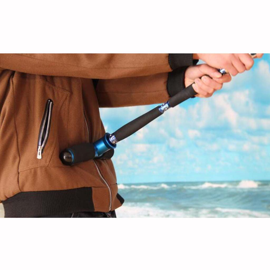 Pro-Stand-Up-Fishig-Waist-Gimbal-Fighting-Belt-Big-Game-Rod-Pole-Holder-Tackle thumbnail 7