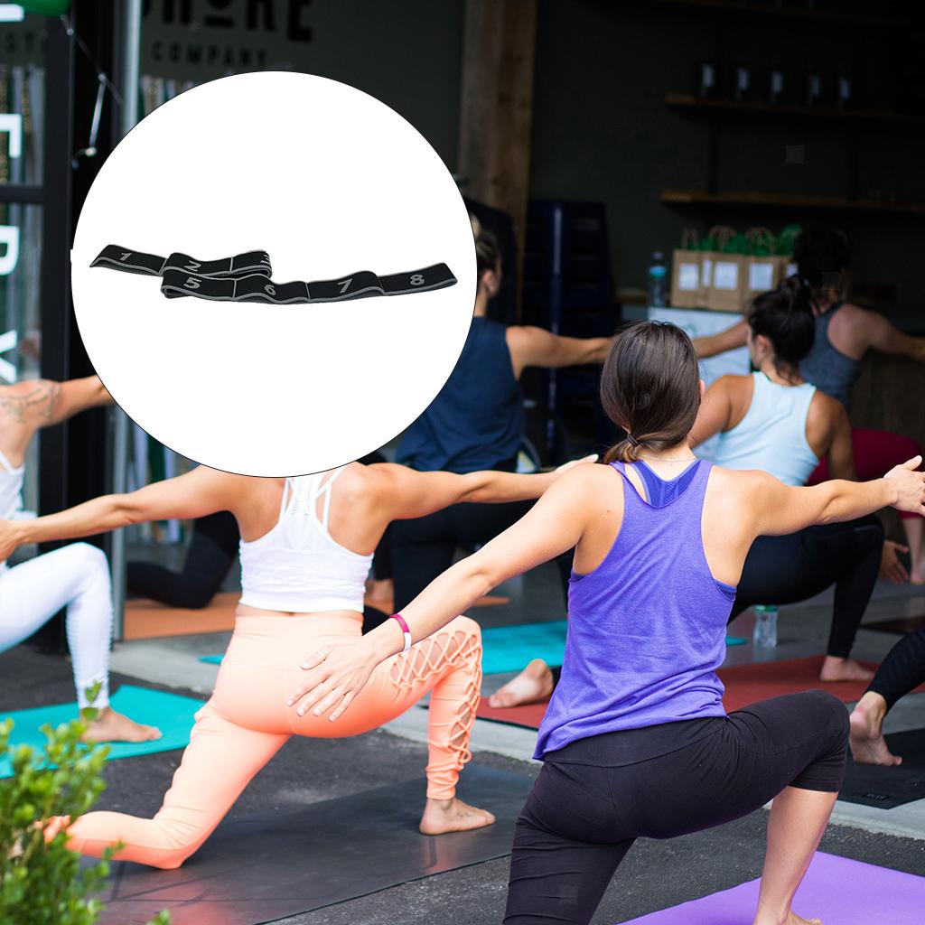 miniatura 5 - Premium yoga Strap 90cm elástico stretchband Dance prorrogado