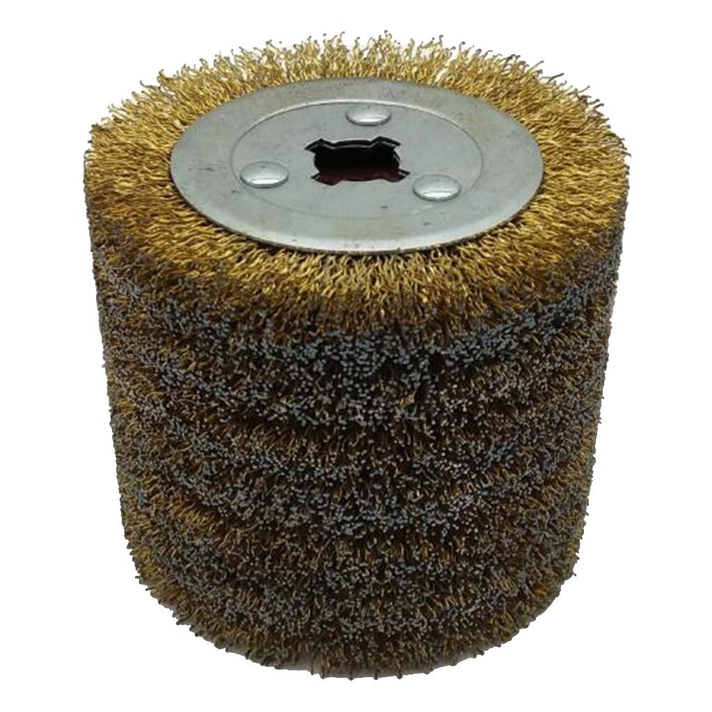Deburring Abrasive Wire Drawing Round Brush Head Polishing Grinding Buffer Wheel