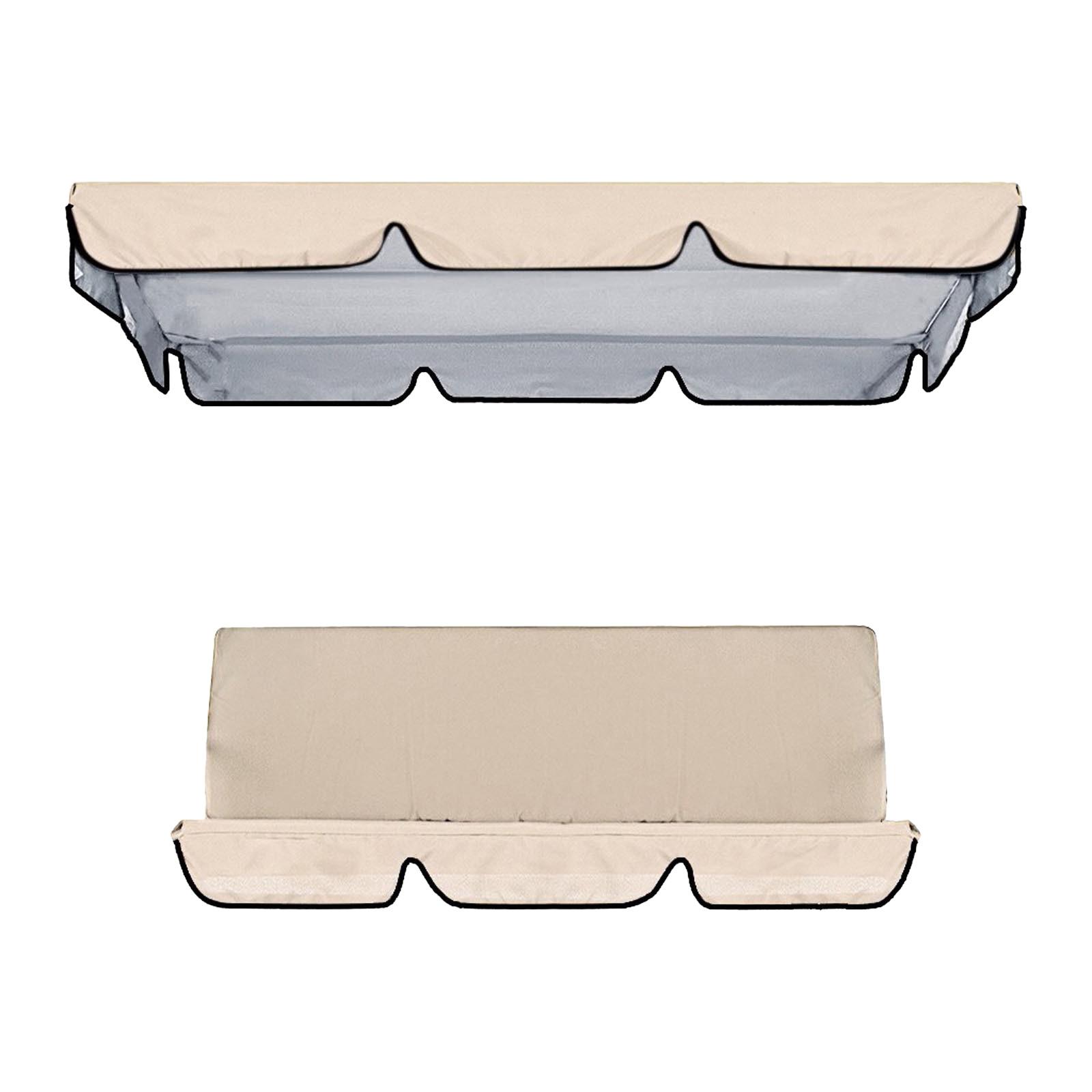 miniatura 26 - Sostituzione della copertura della sedia a dondolo da esterno per patio,