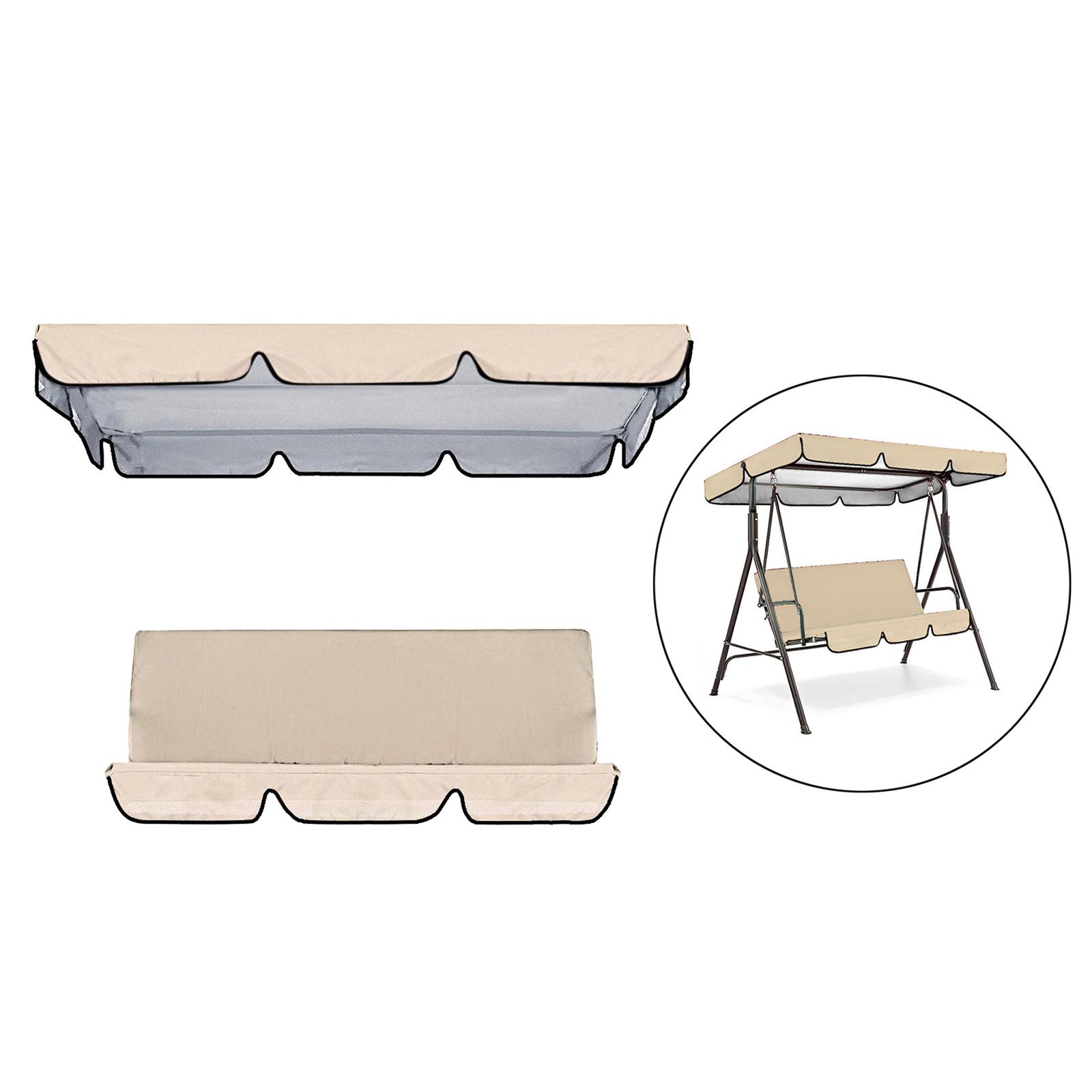 miniatura 28 - Sostituzione della copertura della sedia a dondolo da esterno per patio,