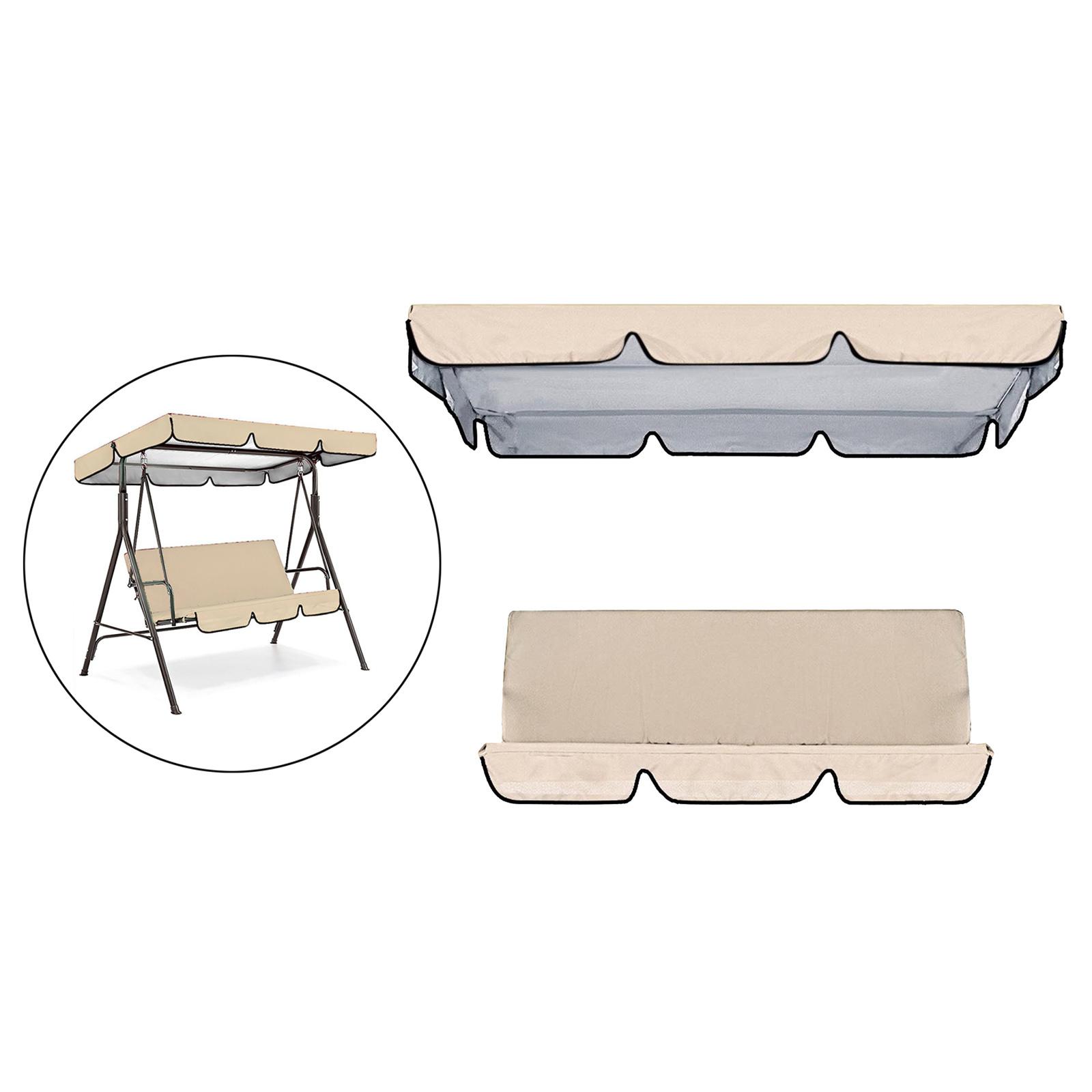 miniatura 29 - Sostituzione della copertura della sedia a dondolo da esterno per patio,