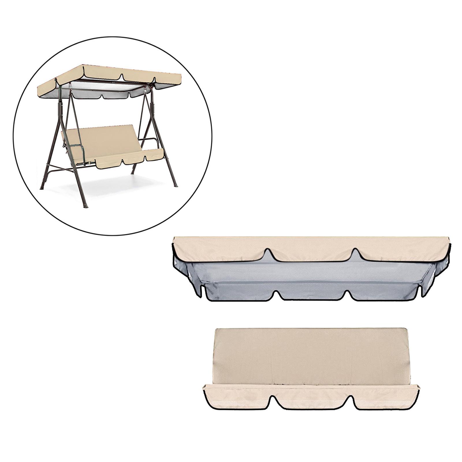 miniatura 24 - Sostituzione della copertura della sedia a dondolo da esterno per patio,