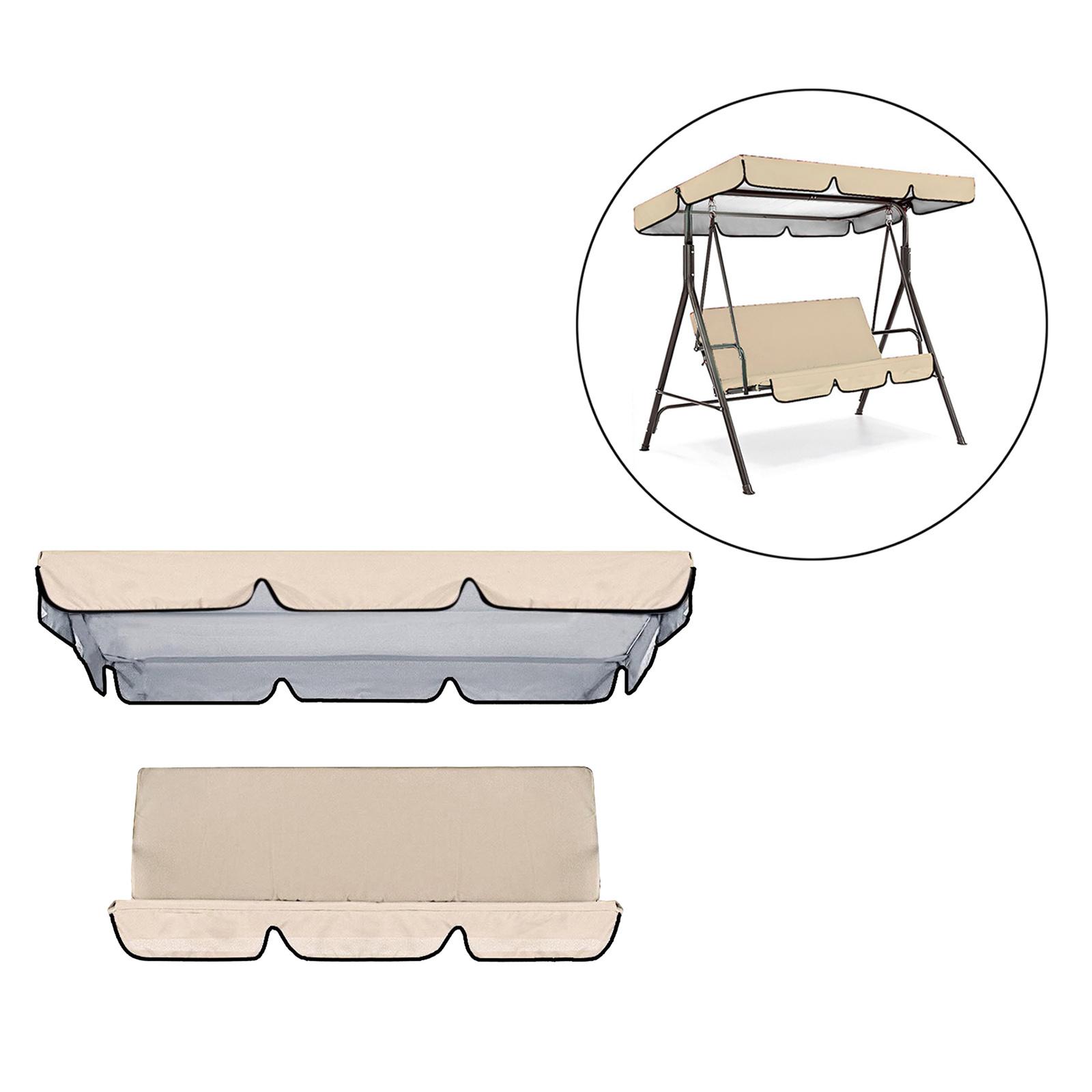 miniatura 30 - Sostituzione della copertura della sedia a dondolo da esterno per patio,