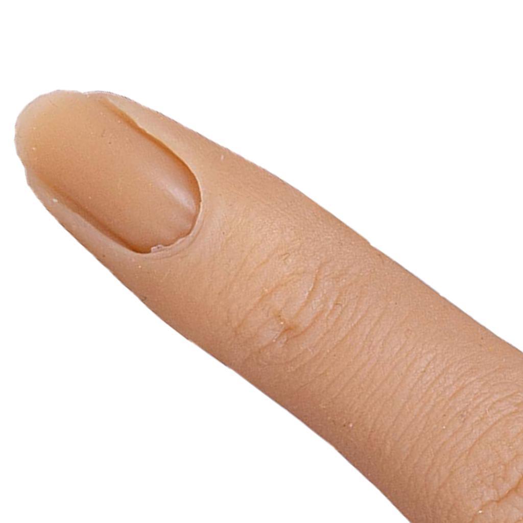 Formazione-per-manicure-con-modello-di-pratica-per-unghie-in-silicone-con-dita miniatura 10