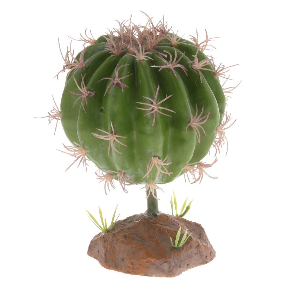Terrarium Fake Multi Succulent Mini Ground Desert Plant Reptile Decor Vivarium Ebay