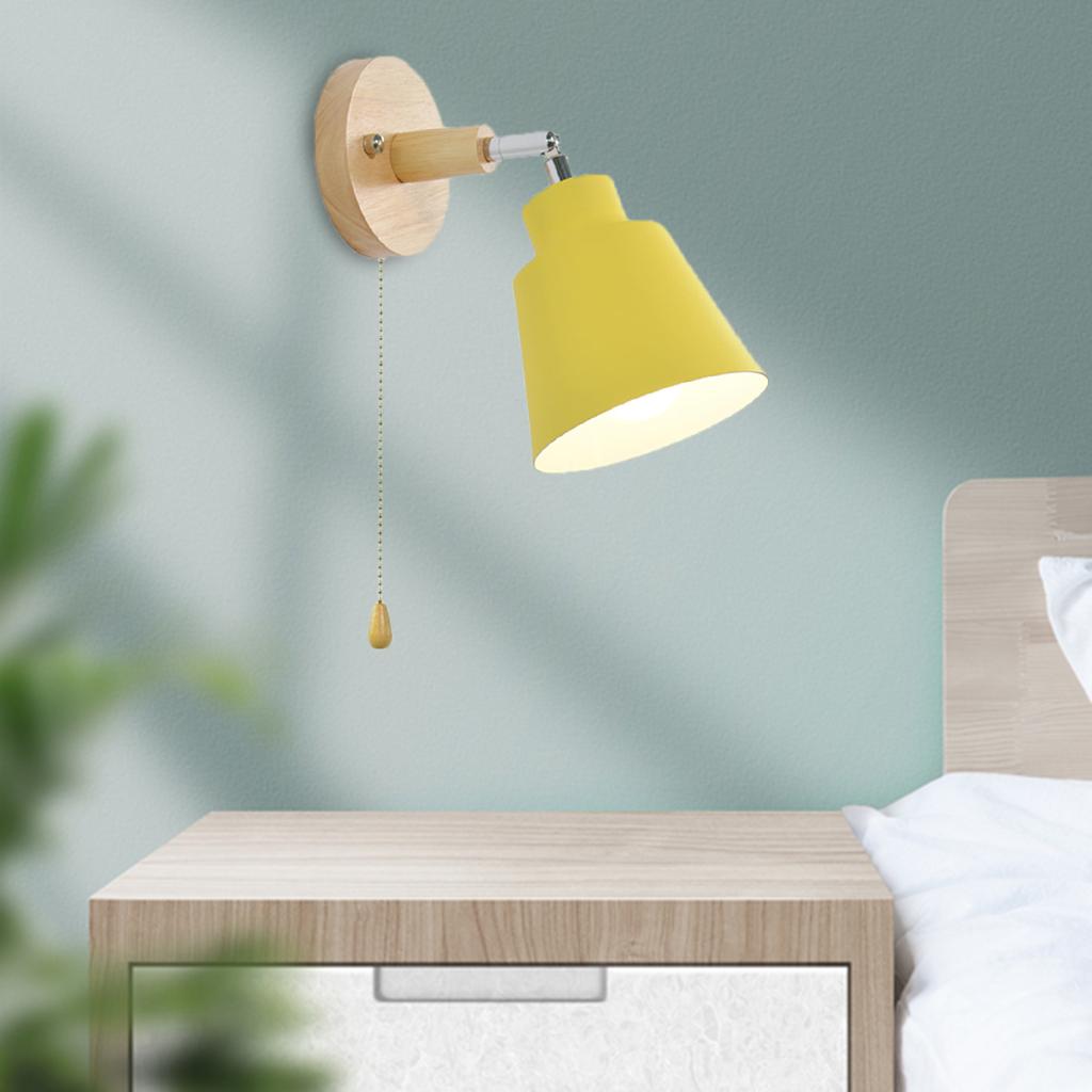 Wandleuchte Wandleuchte Nachttischlampen Leuchten Schlafzimmer Flur Gelb