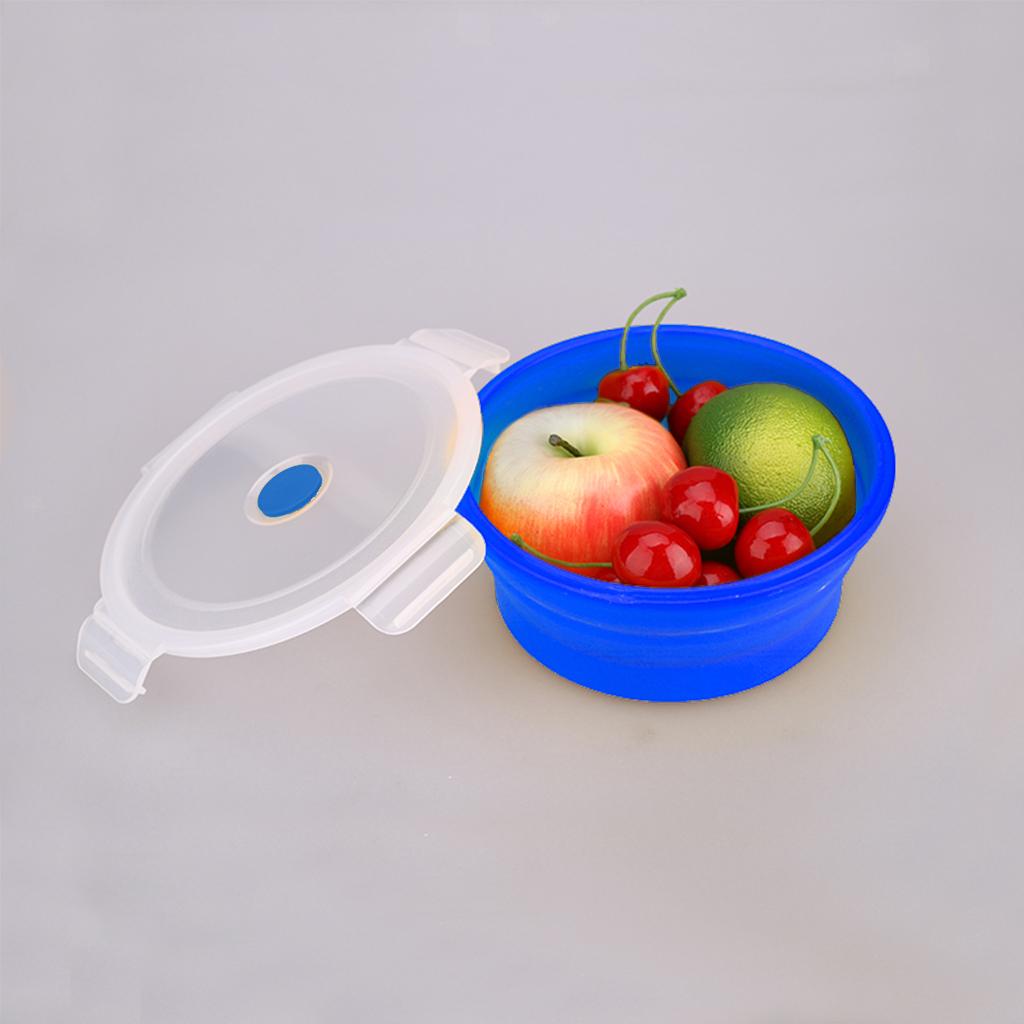 Bol-De-Camping-En-Silicone-Pliable-Qualite-Alimentaire-Et-Sans-BPA miniature 3