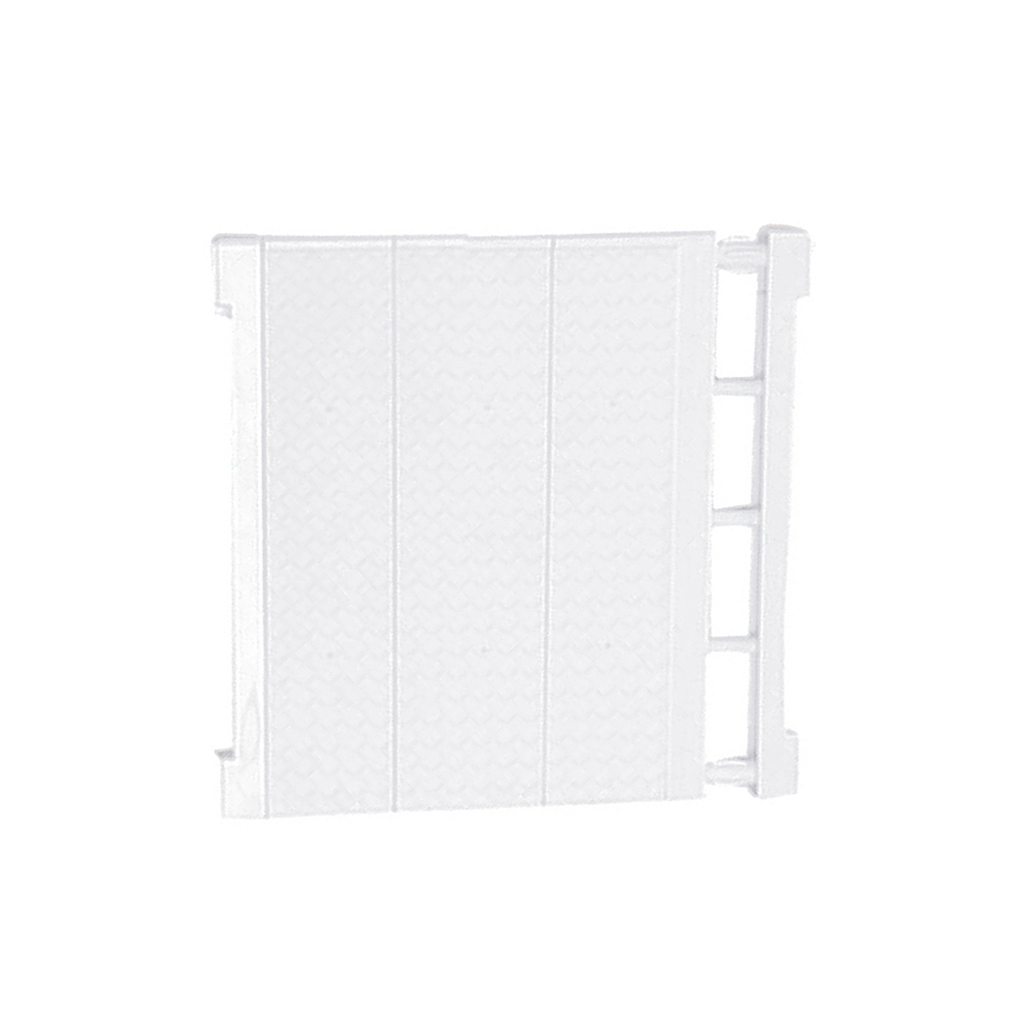 Expandable Shelf Closet Organizer-Storage Adjustable Rack Hanger Rod Bar Clothes